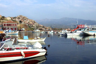 The Harbour of Molyvos