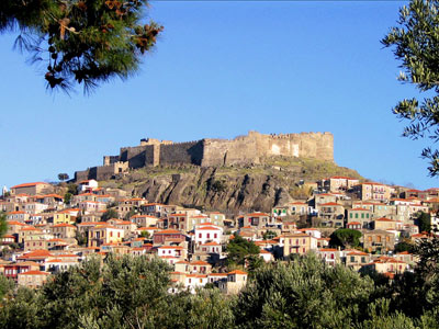 Castle of Molyvos, Lesvos, Greece