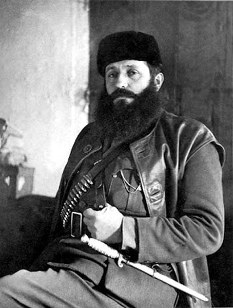 Greek resistance leader Aris Velouchiotis