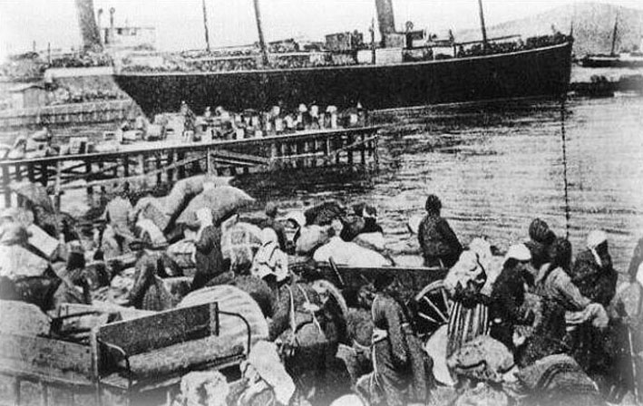 Smyrna Refugees 1922